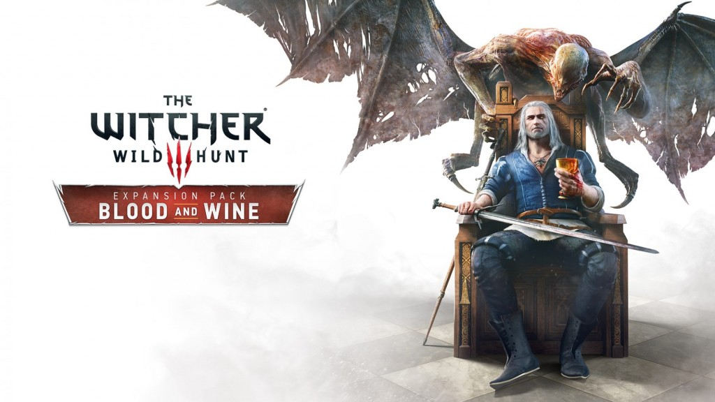 The Witcher 3 Blood and Wine - Title