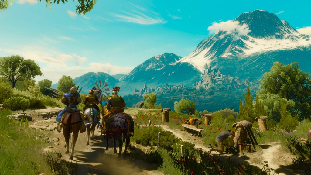 Witcher 3 Blood and Wine Toussaint