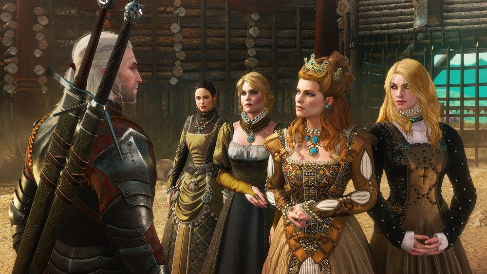 Witcher 3 Blood and Wine cast